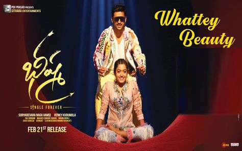 Whattey Beauty Lyrical Video Song Out From Bheeshma Songs Lyrics Single Forever