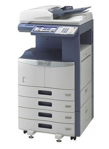 Toshiba e-studio 455 Black and White MFP Copy Print Scan 45