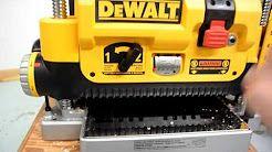 DeWalt DW734 vs  DW735 vs  DW735X Planer: What Works? [2018