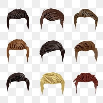 Set Of Men S Hairstyles Hair Clipart Hair Hairstyles Png And Vector With Transparent Background For Free Download In 2021 Manga Drawing Tutorials Photoshop Images Background Hd Wallpaper