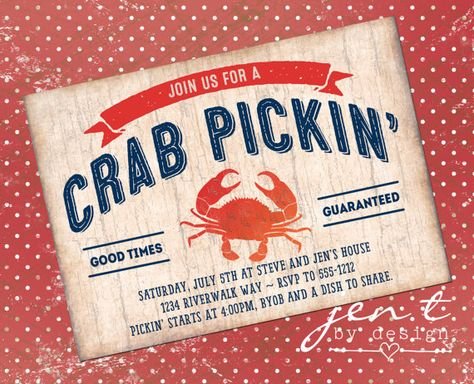 Yum!  Who's ready for a crab pickin'?  :)