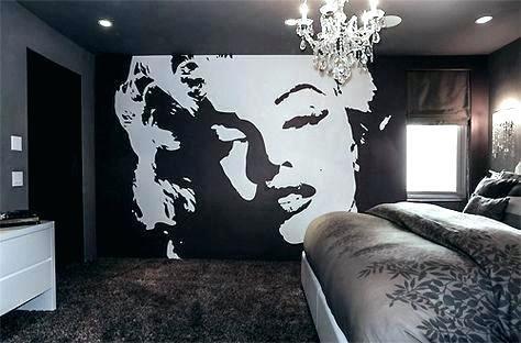 Marilyn Monroe Wallpaper For Bedroom Wallpaper For Bedroom Custom Canvas Arts Poster Marilyn Monroe Bedro Marilyn Monroe Bedroom Wallpaper Bedroom Wallpaper Uk