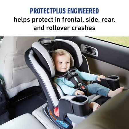 3 In 1 Car Seat Grows With Your Child From 4 100 Lb5 Adjustable