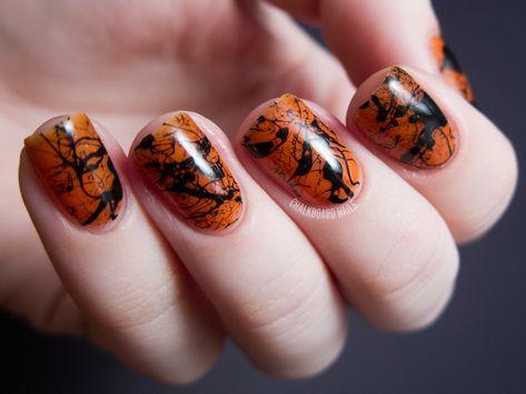 The Chalkboard Nails Halloween Nail Art Rewind