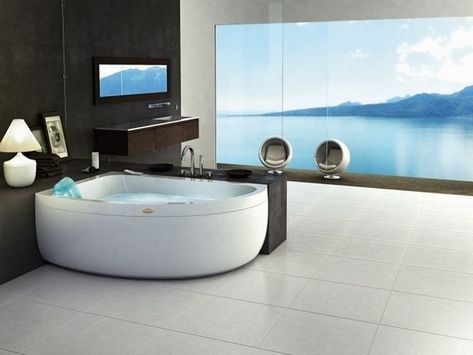 Corner Whirlpool Tub The Perfect Solution For Small Bathrooms