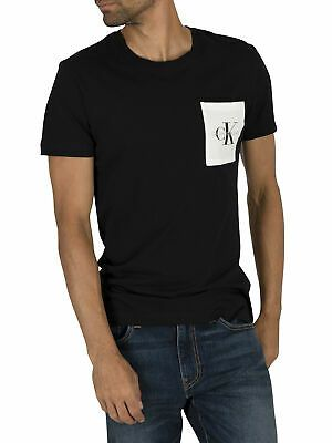 Calvin Klein Jeans Men S Monogram Pocket T Shirt Black Fashion Clothing Shoes Accessories Mensclothing Othermen Mens Monogram Black Shorts Men Mens Jeans
