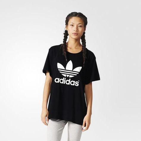 Women's Adidas Originals Boyfriend Trefoil Tee [Aj8351