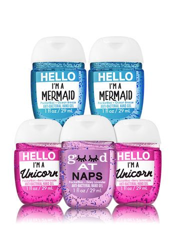 Back To School Pocketbac Hand Sanitizers 5 Pack With Images