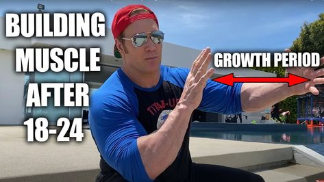 You Can't Grow Muscle After 24 + Sunday Cheat Day Meals | Mike O'Hearn