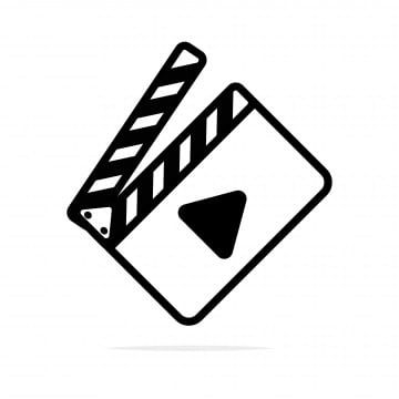 Film Clipart Icon Film Movie Isolated Media Cinema Abstract Black Symbol Concept Sign Video Camera Motion Cinematography Ente In 2021 Instagram Logo Icon Iconic Movies