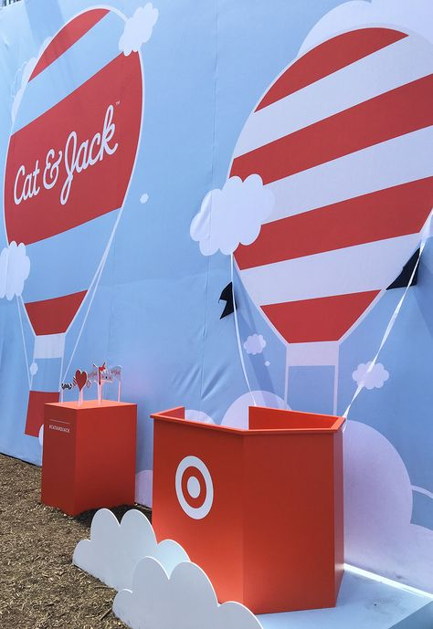 Target Debuts New Clothing Line with a Pop-up Playground
