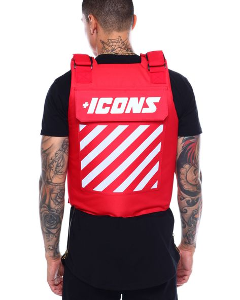 Buy Icon Reflective Vest Men's Outerwear from Hudson NYC. Find Hudson NYC fashion & more at DrJays.com