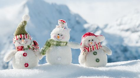 neve natalizia desktop