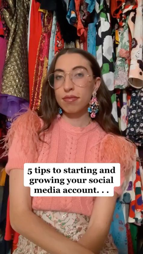 5 Tips to Starting and Growing on Social Media, How to Build your Brand