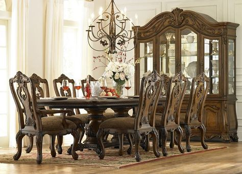 Villa Clare Dining Rooms Havertys Furniture Dining Room Sets