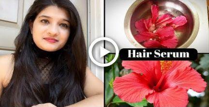 Diy Homemade Natural Hair Serum In Hindi Frizzy Hair Hair Growth Serum Hair Care Avni Hair Natural Hair Serum Hair Serum Hair Remedies For Growth