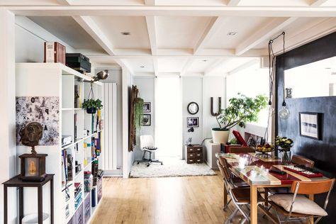 Inside 1 Walters Way, one of two self-build London housing developments that bear Walter Segal's name Photography: Taran Wilkhu