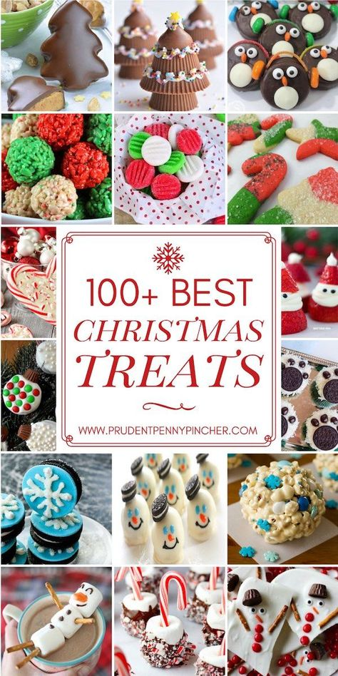 200 Best Christmas Treats #Christmas #ChristmasTreats