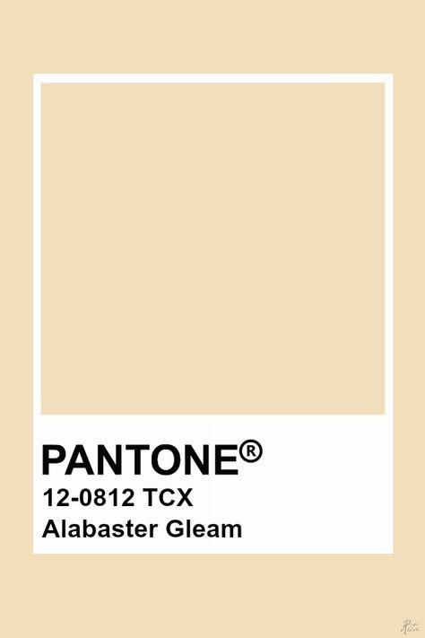 Pantone Alabaster Gleam