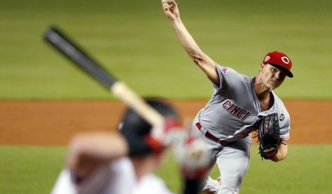 Baseball News: Gray pitches Reds past Marlins 6-3