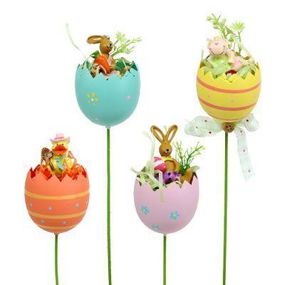 Flower plug egg with animal sort. 8cm L30cm 4pcs- Blumenstecker Ei mit Tier sort. 8cm L30cm 4St  Flower plug egg with animal sort. 8cm L30cm 4pcs  -#cocktailDressAccessories #DressAccessoriesbelt #DressAccessoriesbodytypes #DressAccessoriescoats #DressAccessoriesguide #DressAccessoriesjeans #DressAccessoriesskirts #DressAccessoriesstitchfix