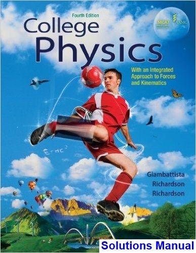 College Physics 4th Edition Giambattista Solutions Manual