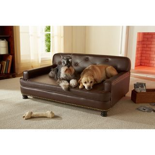 Enchanted Home Pet Library Sofa | Overstock.com Shopping - The Best Prices on Pet Sofas & Furniture