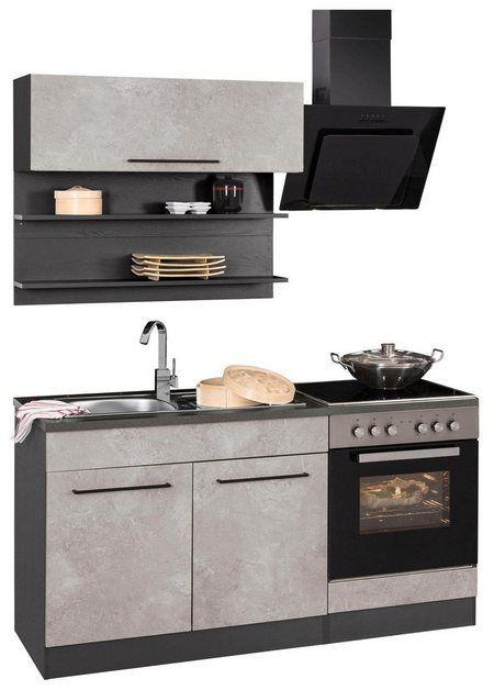 Küchenzeile »Tulsa«, mit E-Geräten, Breite 160 cm   Held ...