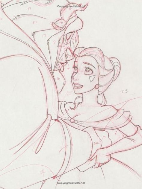 This is it! Exactly what I want in my frame!!! Finally found my favorite beauty and the beast sketch