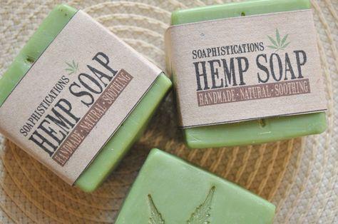 Soaphistication: Geburtstagstorte und Hanfseife