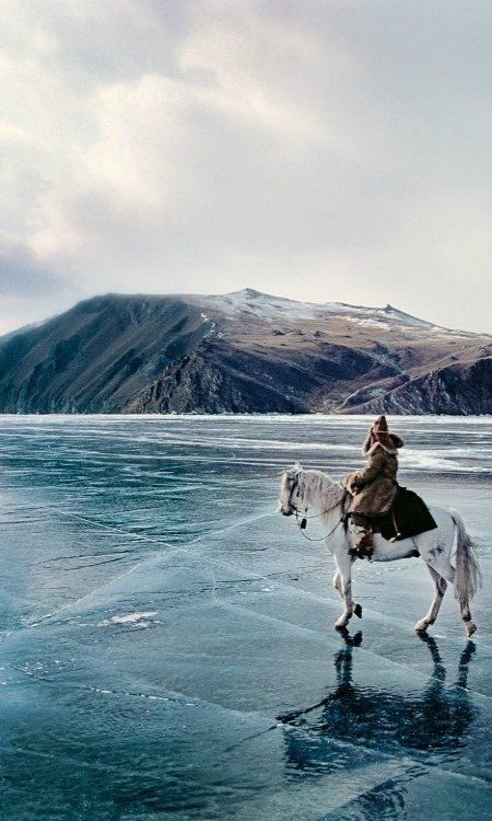 Lake Baikal, Siberia, Russia (by Matthieu Paley)