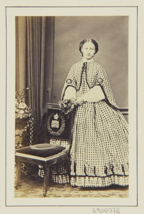 Princess Louise, 1863 [in Portraits of Royal Children Vol.7 1863-1864] | Royal Collection Trust