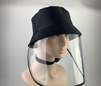 Sponsored Ebay Fisherman Hat Bucket Cap Anti Saliva Protective Cap Face Shield Dustproof Unisex Bucket Cap Fisherman Hat Face Shield