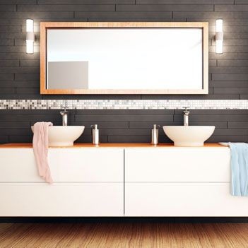 Custom Mirrors For Bathroom Vanity MAL 0461