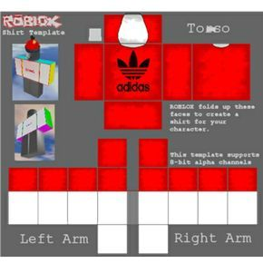 Red Adidas T Shirt Roblox In 2020 Roblox Shirt Red Adidas