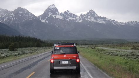 Honda element park grand teton
