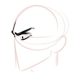 How To Draw An Angry Face With Emotion Don Corgi Eye Drawing Human Face Drawing Eye Expressions