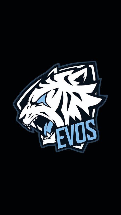 Evos E Sport Logo Hewan Lukisan Galaksi Gambar Naga