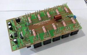 Placa Montada Para Amplificador De Audio 500w Rms Potencia