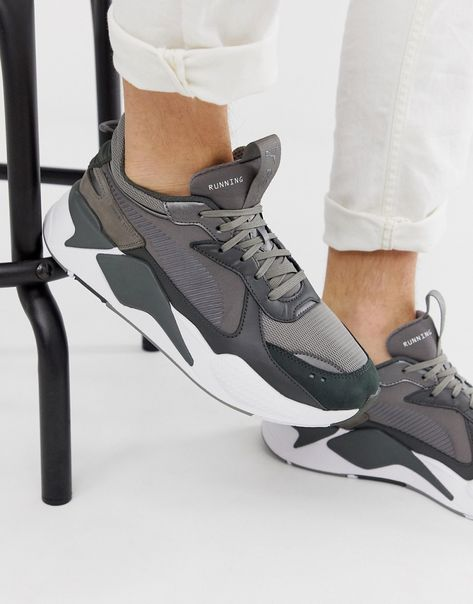Rs-x Trophy Sneakers In Gray - Gray | Sneakers, Puma, Pumas ...