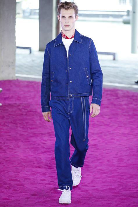 Ami Spring 2018 Menswear Fashion Show Collection