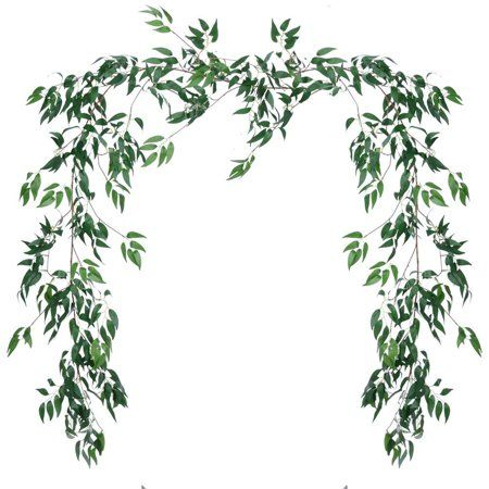 Artificial Eucalyptus Leaves Plant Branches Home Fake Leaf Garland Wreath Decor