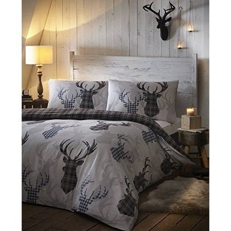 Luxury King Size Duvet Cover 3 Piece Bedding Set Animal Print Pillow