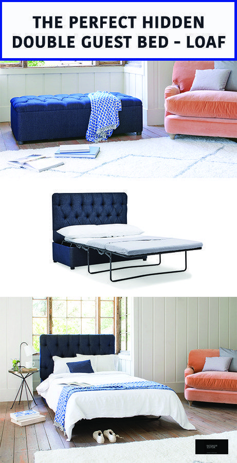 The Perfect Hidden Guest Bed Loaf The Interior Editor In 2020 Sofa Bed Guest Room Beds For Small Spaces Guest Bed