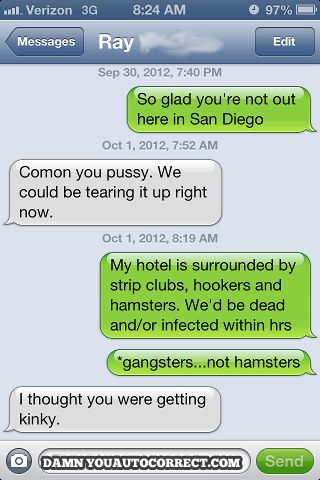 funny auto-correct texts - The 26 Best Autocorrects Of October 2012
