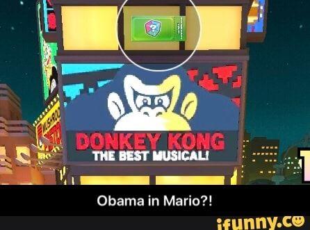 Obama In Mario Obama In Mario Ifunny Memes