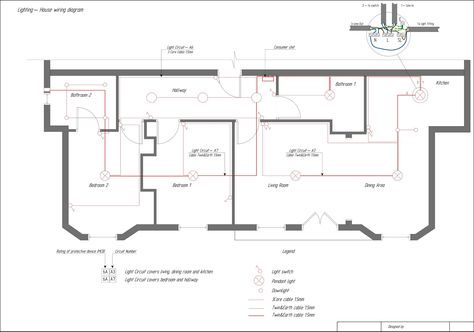 Wiring Diagram For Domestic House