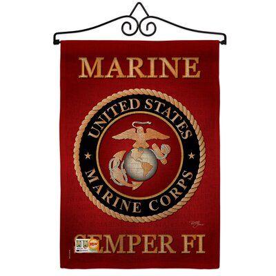 Breeze Decor Marine Corps Burlap 2 Sided Polyester 1 5 X 1 1 Ft 3 Piece Flag Set Breeze Decor Marine Decor Usmc Wallpaper