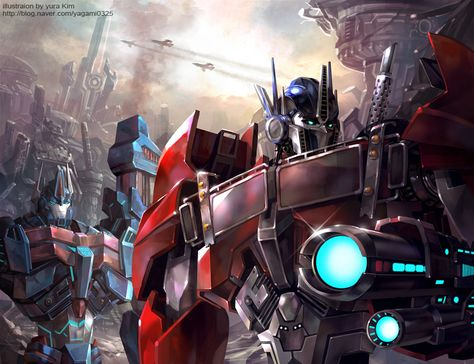 War of the Cybertron - Transformers Prime - - Fribly