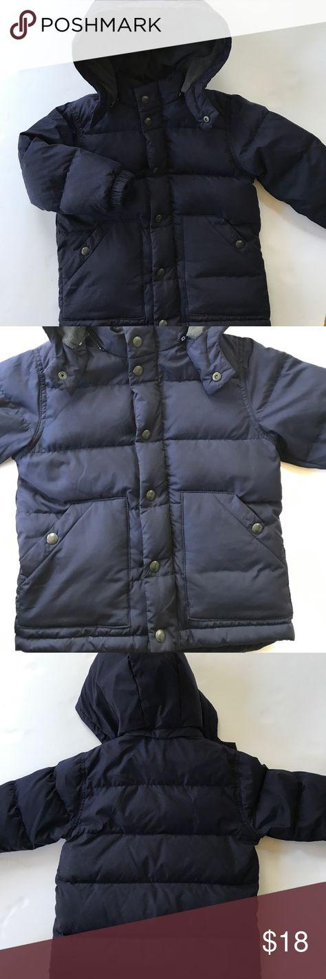 e03fe5e79 Baby Gap Boys Winter Puffer Jacket Navy Blue